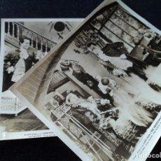 Cine: DOS FOTOCROMOS DE EL ESPADACHIN, (STEWART GRANGER) FOTO B/N ORIGINAL, 25 X 20 CM. Lote 237801520