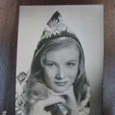 Cinema: VERONICA LAKE - FOTO POSTAL ORIGINAL B/N - HOLLYWOOD STAR. Lote 238770855
