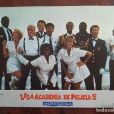 Cine: LOCA ACADEMIA DE POLICÍA 5, 1987 - 6 FOTOCROMOS - LOBBY CARDS - PELÍCULA - MOVIE. Lote 238791560