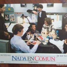 Cine: NADA EN COMÚN (NOTHING IN COMMON), 1986 - 12 FOTOCROMOS - LOBBY CARDS - PELÍCULA - MOVIE. Lote 238792820