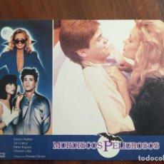 Cine: MORDISCOS PELIGROSOS, 1985 - 11 FOTOCROMOS - LOBBY CARDS - PELÍCULA - MOVIE. Lote 238793715