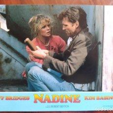 Cine: NADINE, 1987 - 9 FOTOCROMOS - LOBBY CARDS - PELÍCULA - MOVIE. Lote 238833030