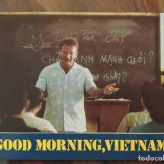 Cine: GOOD MORNING, VIETNAM, 1987 - 10 FOTOCROMOS - LOBBY CARDS - PELÍCULA - MOVIE. Lote 238846890