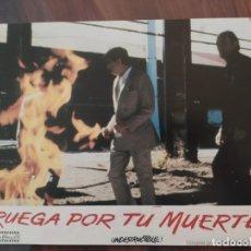 Cine: RUEGA POR TU MUERTE (PRAY FOR DEATH), 1985 - 10 FOTOCROMOS - LOBBY CARDS - PELÍCULA - MOVIE. Lote 238849245