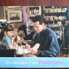Cine: TRES HOMBRES Y UNA PEQUEÑA DAMA, 1990 - 10 FOTOCROMOS - LOBBY CARDS - PELÍCULA - MOVIE. Lote 239448845