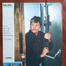 Cine: YO SOY LA JUSTICIA II (DEATH WISH 4), 1987 - 11 FOTOCROMOS - LOBBY CARDS - PELÍCULA - MOVIE. Lote 239451855