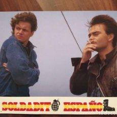 Cine: SOLDADITO ESPAÑOL, 1988 - 12 FOTOCROMOS - LOBBY CARDS - MOVIE. Lote 239470060