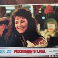 Cine: PROCEDIMIENTO ILEGAL (STAKEOUT), 1987 - 9 FOTOCROMOS - PELÍCULA - LOBBY CARDS - MOVIE. Lote 239477075