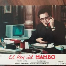 Cine: EL REY DEL MAMBO, 1989 - 11 FOTOCROMOS - PELÍCULA - LOBBY CARDS - MOVIE. Lote 239479150