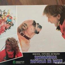 Cine: DISPARATADA PATRULLA DE ESQUÍ (SKI PATROL), 1990 - 12 FOTOCROMOS - PELÍCULA - LOBBY CARDS - MOVIE. Lote 239486715