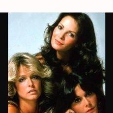 Cine: ANGELES CHARLIE KATE JACKSON FARRAH FAWCETT JACLYN SMITH CHARLIE´S ANGELS TV 1976 FOTO. Lote 188786307