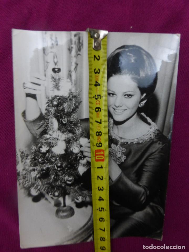 Cine: ANTIGUA FOTO FOTOGRAFÍA ORIGINAL DE PRENSA EUROPA PRESS-CLAUDIA CARDINALE-ORIGINAL 21 DIC. 1962 - Foto 3 - 242017935