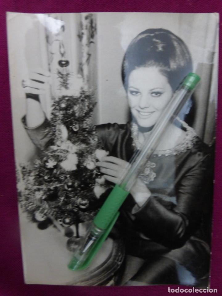 ANTIGUA FOTO FOTOGRAFÍA ORIGINAL DE PRENSA EUROPA PRESS-CLAUDIA CARDINALE-ORIGINAL 21 DIC. 1962 (Cine - Fotos y Postales de Actores y Actrices)
