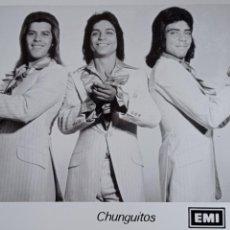 Cine: LOS CHUNGUITOS, FOTOGRAFIA PRENSA, MEDIDAS 18 X 12 CM. Lote 242086490