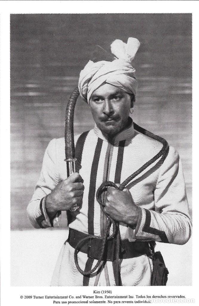 ERROL FLYNN - KIM DE LA INDIA - VICTOR SAVILLE (Cine - Fotos, Fotocromos y Postales de Películas)