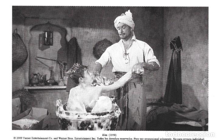 ERROL FLYNN Y DEAN STOCKWELL - KIM DE LA INDIA - VICTOR SAVILLE (Cine - Fotos, Fotocromos y Postales de Películas)