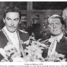 Cine: ERROL FLYNN Y ROGER LIVESEY - EL SEÑOR DE BALLANTRY - WILLIAM KEIGHLEY. Lote 242422730