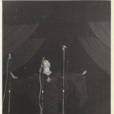 Cine: FOTOGRAFÍA (14X9) JUANITA REINA. DEDICADO AL DORSO A UNA AMIGA POR JUANITA REINA EN 1976. Lote 242449460