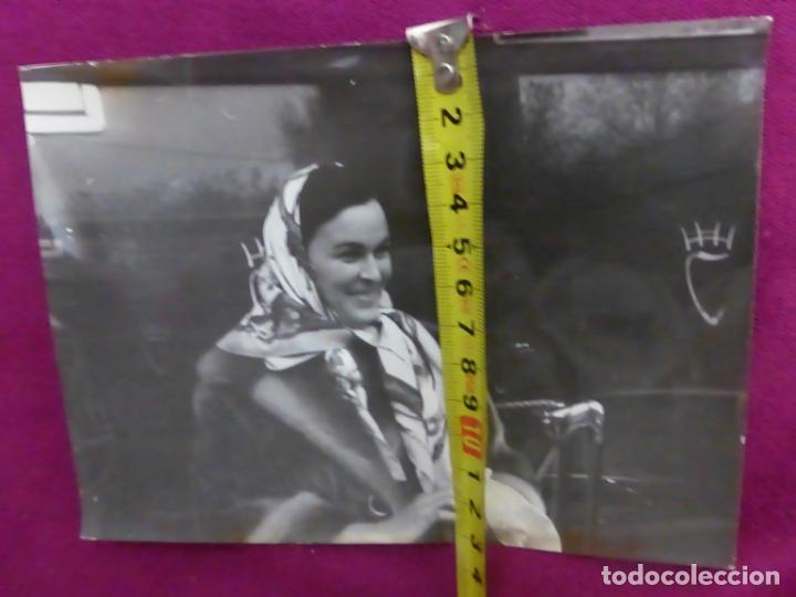 Cine: ANTIGUA FOTO FOTOGRAFÍA ORIGINAL DE PRENSA EUROPA PRESS-ACTRIZ LUCÍA BOSÉ-ORIGINAL 1963 - Foto 4 - 243269855