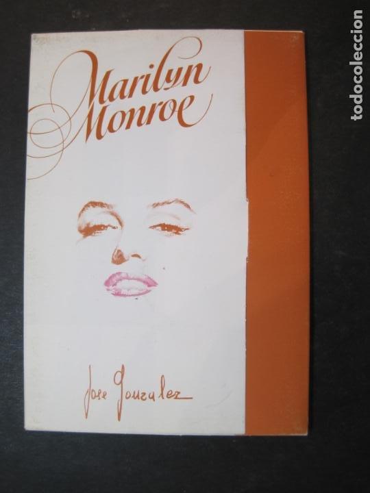 Cine: MARILYN MONROE-BLOC CON 6 POSTALES DE LA ACTRIZ-NORMA EDITORIAL-JOSE GONZALEZ-VER FOTOS-(77.629 - Foto 2 - 243450740