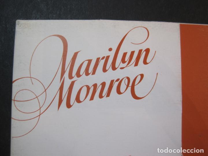Cine: MARILYN MONROE-BLOC CON 6 POSTALES DE LA ACTRIZ-NORMA EDITORIAL-JOSE GONZALEZ-VER FOTOS-(77.629 - Foto 3 - 243450740