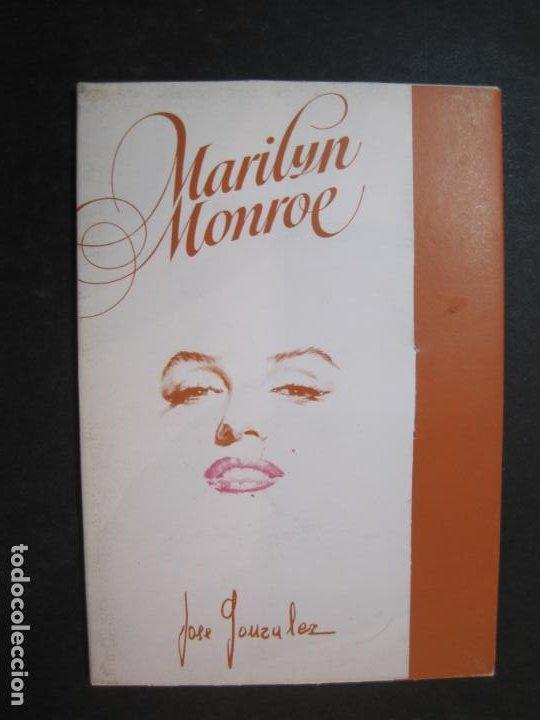 Cine: MARILYN MONROE-BLOC CON 6 POSTALES DE LA ACTRIZ-NORMA EDITORIAL-JOSE GONZALEZ-VER FOTOS-(77.629 - Foto 6 - 243450740