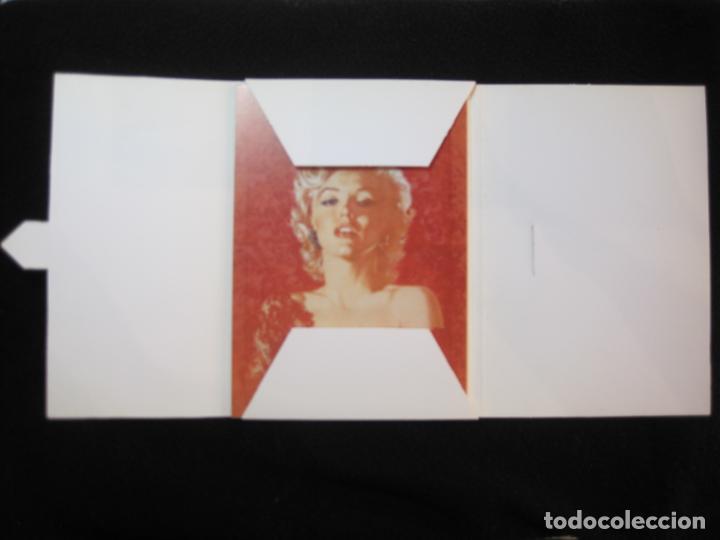 Cine: MARILYN MONROE-BLOC CON 6 POSTALES DE LA ACTRIZ-NORMA EDITORIAL-JOSE GONZALEZ-VER FOTOS-(77.629 - Foto 9 - 243450740