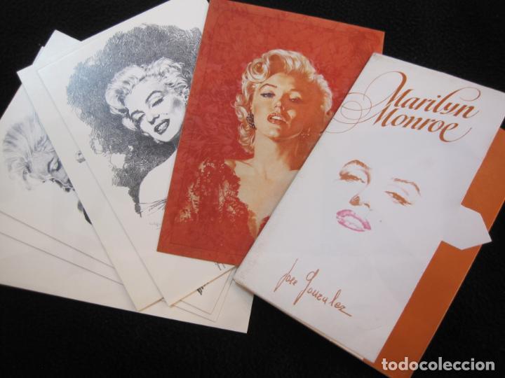 MARILYN MONROE-BLOC CON 6 POSTALES DE LA ACTRIZ-NORMA EDITORIAL-JOSE GONZALEZ-VER FOTOS-(77.629 (Cine - Fotos y Postales de Actores y Actrices)