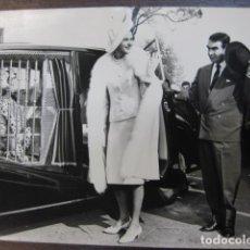 Cine: INGRID BERGMAN - FOTO ORIGINAL B/N - 1964 THE VISIT LA VISITA DEL RENCOR - LEOPARD. Lote 243878755