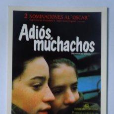 Cine: ANTIGUA POSTAL DE LA PELÍCULA ADIÓS MUCHACHOS, VER FOTOS. Lote 244370965
