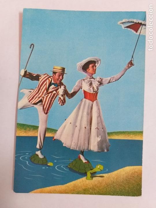 POSTAL DE LA PELÍCULA MARY POPPINS DE WALT DISNEY. AÑO 1965. EDICIONES TARJE-FHER. # 325. (Cine - Fotos, Fotocromos y Postales de Películas)