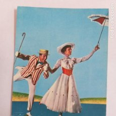 Cine: POSTAL DE LA PELÍCULA MARY POPPINS DE WALT DISNEY. AÑO 1965. EDICIONES TARJE-FHER. # 325.. Lote 289691078