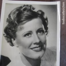 Cine: IRENE DUNNE - FOTO ORIGINAL B/N - AMERICAN ACTRESS AND SINGER. Lote 244660740