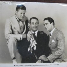 Cine: SOMEONE TO LOVE - FOTO ORIGINAL B/N - CHARLES 'BUDDY' ROGERS JACK OAKIE. Lote 244675855
