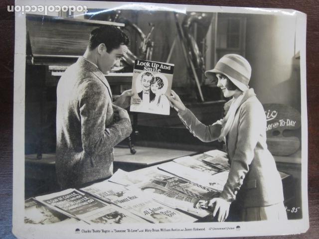 SOMEONE TO LOVE - FOTO ORIGINAL B/N - MARY BRIAN CHARLES 'BUDDY' ROGERS (Cine - Fotos, Fotocromos y Postales de Películas)