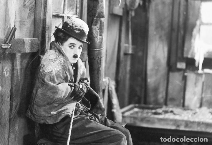 POSTAL DE LA PELÍCULA LA QUIMERA DEL ORO, DE CHARLES CHAPLIN. TEMA: CINE, CHARLOT, THE GOLD RUSH. (Cine - Fotos, Fotocromos y Postales de Películas)