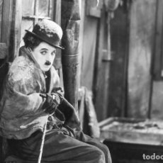 Cine: POSTAL DE LA PELÍCULA LA QUIMERA DEL ORO, DE CHARLES CHAPLIN. TEMA: CINE, CHARLOT, THE GOLD RUSH.. Lote 263050460