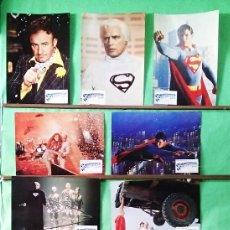 Cine: FOTOCROMOS CINE . SUPERMAN 1. - JUEGO CON 11 UNIDADES - F7. Lote 245062990