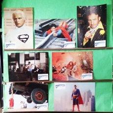 Cine: FOTOCROMOS CINE . SUPERMAN 1. - JUEGO CON 12 UNIDADES - F7. Lote 245064320