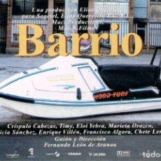 Cine: BARRIO DE FERNANDO LEON DE ARANOA, PROMOCIONAL DE SU ESTRENO. Lote 245068215