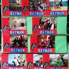 Cine: FOTOCROMOS CINE . BATMAN - JUEGO DE 10 UNIDADES - F7. Lote 245070770
