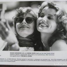 Cine: THELMA Y LOUISE - FOTO ORIGINAL B/N - SUSAN SARANDON GEENA DAVIS. Lote 245455470