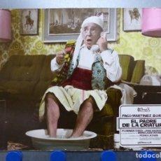 Cine: EL PADRE DE LA CRIATURA, PACO MARTINEZ SORIA - ANTIGUO FOTOCROMO DE CARTON. Lote 245571910