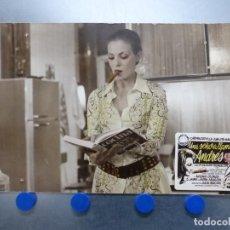 Cine: UNA SEÑORA LLAMADA ANDRES, CARMEN SEVILLA - ANTIGUO FOTOCROMO DE CARTON. Lote 245572490