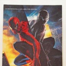 Cine: SPIDERMAN 3 POSTAL GRANDE TIPO HOLOGRAMA 3D MARVEL COLUMBIA PICTURES. Lote 246124530