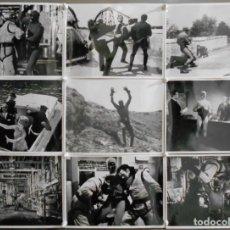Cine: F25938D SUPERARGO EL HOMBRE ENMASCARADO KEN WOOD 18 FOTOS B/N ORIGINALES ESPAÑOLAS. Lote 248369715