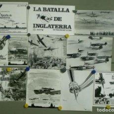 Cine: F14508D LA BATALLA DE INGLATERRA MESSERSCHMITT ME BF 109 10 FOTOS B/N ORIGINALES 7 AMERICANAS 3 ESP. Lote 248369925