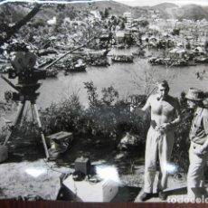 Cinema: RICHARD BROOKS - FOTO ORIGINAL B/N - FILMMAKER RODAJE LORD JIM. Lote 249048585
