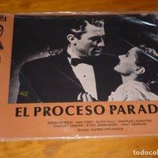 Cine: EL PROCESO PARADINE - LOTE 12 FOTOCROMOS ORIGINALES. Lote 251079855