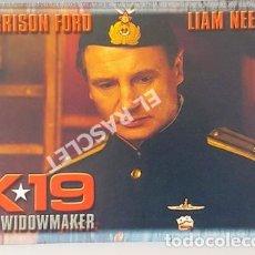 Cine: ANTIGUA POSTAL DE LA PELICULA - K 19 - THE WIDOWMARKER - HARRISON FORD - LIAM NEESON -. Lote 251504975